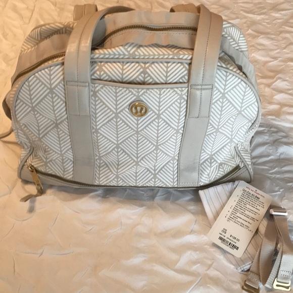 lululemon athletica Handbags - Om for One LuLu lemon bag, color Dune